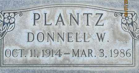 PLANTZ, DONNELL W. - Sutter County, California | DONNELL W. PLANTZ - California Gravestone Photos
