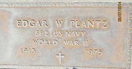 PLANTZ, EDGAR WASSON - Sutter County, California | EDGAR WASSON PLANTZ - California Gravestone Photos