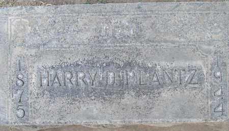 PLANTZ, HARRY DAVID - Sutter County, California   HARRY DAVID PLANTZ - California Gravestone Photos