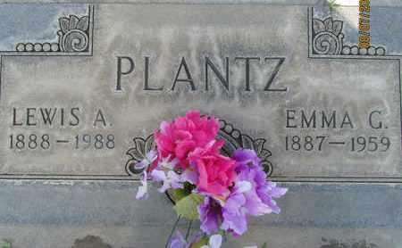 PLANTZ, LEWIS ALBERT - Sutter County, California   LEWIS ALBERT PLANTZ - California Gravestone Photos