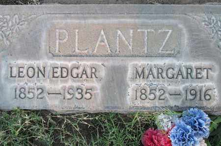 PLANTZ, LEON EDGAR - Sutter County, California | LEON EDGAR PLANTZ - California Gravestone Photos