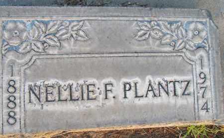 PLANTZ, NELLIE FRANCES - Sutter County, California | NELLIE FRANCES PLANTZ - California Gravestone Photos