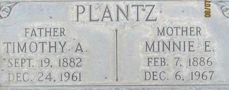 PLANTZ, MINNIE E. - Sutter County, California | MINNIE E. PLANTZ - California Gravestone Photos