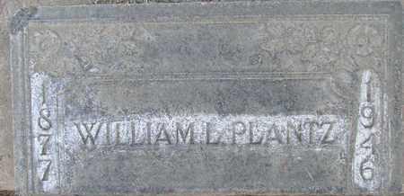 PLANTZ, WILLIAM LEON - Sutter County, California   WILLIAM LEON PLANTZ - California Gravestone Photos