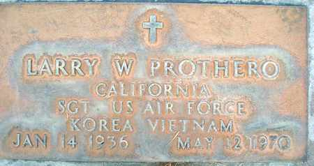 PROTHERO, LAWRENCE WAYNE - Sutter County, California | LAWRENCE WAYNE PROTHERO - California Gravestone Photos