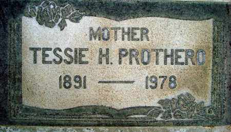 PROTHERO, TESSIE H. - Sutter County, California | TESSIE H. PROTHERO - California Gravestone Photos