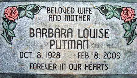 PUTMAN, BARBARA LOUISE - Sutter County, California | BARBARA LOUISE PUTMAN - California Gravestone Photos