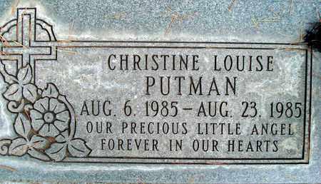 PUTMAN, CHRISTINE LOUISE - Sutter County, California | CHRISTINE LOUISE PUTMAN - California Gravestone Photos
