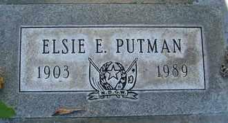 PUTMAN, ELSIE ELIZABETH - Sutter County, California | ELSIE ELIZABETH PUTMAN - California Gravestone Photos