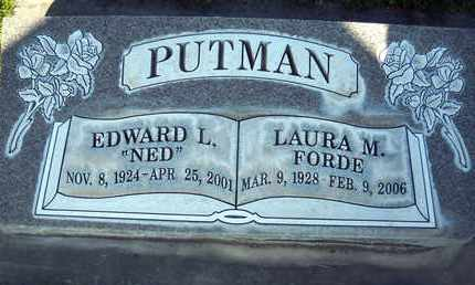 PUTMAN, EDWARD LAWRENCE - Sutter County, California | EDWARD LAWRENCE PUTMAN - California Gravestone Photos