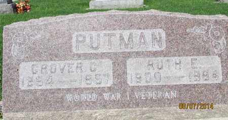 PUTMAN, GROVER CLEVELAND - Sutter County, California | GROVER CLEVELAND PUTMAN - California Gravestone Photos