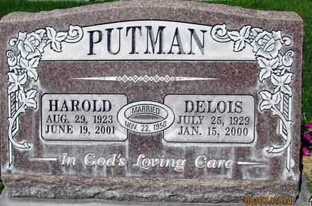 PUTMAN, MILDRED DELOIS - Sutter County, California   MILDRED DELOIS PUTMAN - California Gravestone Photos