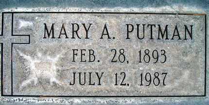 PUTMAN, MARY ANN - Sutter County, California   MARY ANN PUTMAN - California Gravestone Photos