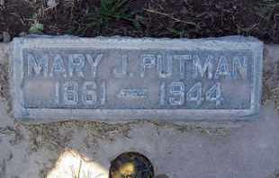 PUTMAN, MARY JANE - Sutter County, California | MARY JANE PUTMAN - California Gravestone Photos