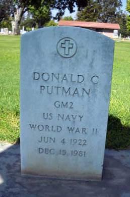 PUTMAN, SR., DONALD C. - Sutter County, California | DONALD C. PUTMAN, SR. - California Gravestone Photos