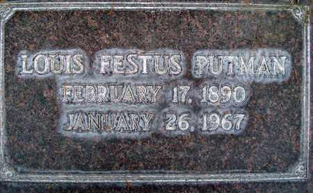 PUTMAN, SR., LOUIS FESTUS - Sutter County, California | LOUIS FESTUS PUTMAN, SR. - California Gravestone Photos