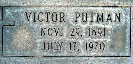 PUTMAN, VICTOR - Sutter County, California | VICTOR PUTMAN - California Gravestone Photos
