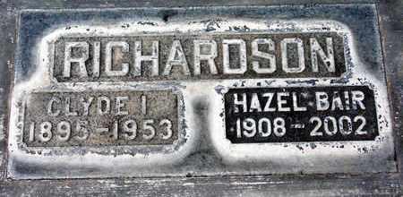 RICHARDSON, HAZEL BAIR - Sutter County, California | HAZEL BAIR RICHARDSON - California Gravestone Photos