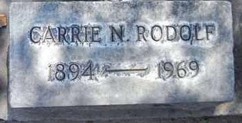 RODOLF, CARRIE N. - Sutter County, California | CARRIE N. RODOLF - California Gravestone Photos