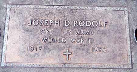 RODOLF, JOSEPH DONAVAN - Sutter County, California | JOSEPH DONAVAN RODOLF - California Gravestone Photos