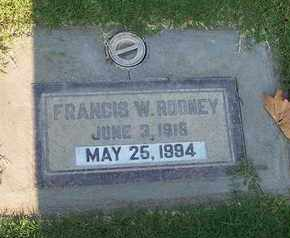 ROONEY, FRANCIS W. - Sutter County, California | FRANCIS W. ROONEY - California Gravestone Photos