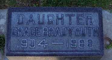 BRADY RUTH, GRACE MARIE - Sutter County, California | GRACE MARIE BRADY RUTH - California Gravestone Photos