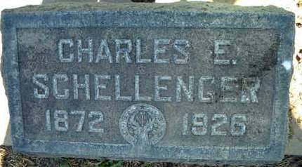 SCHELLENGER, CHARLES E. - Sutter County, California | CHARLES E. SCHELLENGER - California Gravestone Photos
