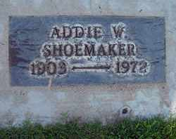 SHOEMAKER, ADDIE W. - Sutter County, California | ADDIE W. SHOEMAKER - California Gravestone Photos