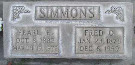 SIMMONS, SR., FRED OREN - Sutter County, California | FRED OREN SIMMONS, SR. - California Gravestone Photos