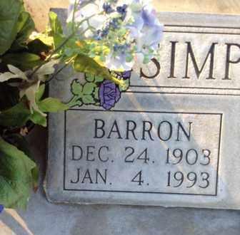 SIMPSON, BARRON - Sutter County, California | BARRON SIMPSON - California Gravestone Photos