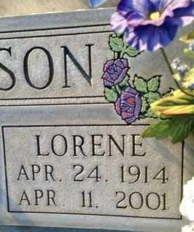 SIMPSON, IVA LORENE - Sutter County, California | IVA LORENE SIMPSON - California Gravestone Photos