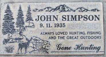 SIMPSON, JOHN - Sutter County, California | JOHN SIMPSON - California Gravestone Photos