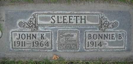 SLEETH, BONNIE B. - Sutter County, California   BONNIE B. SLEETH - California Gravestone Photos