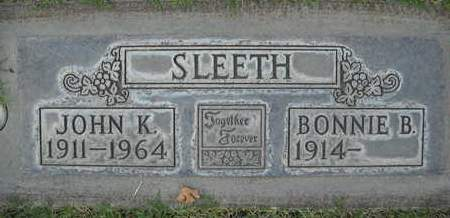 SLEETH, BONNIE B. - Sutter County, California | BONNIE B. SLEETH - California Gravestone Photos