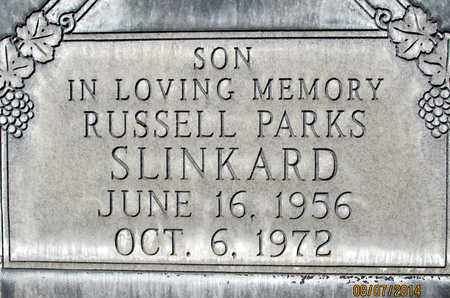 SLINKARD, RUSSELL MARVIN PARKS - Sutter County, California | RUSSELL MARVIN PARKS SLINKARD - California Gravestone Photos