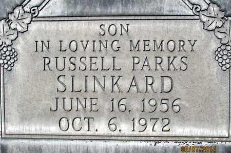 SLINKARD, RUSSELL MARVIN PARKS - Sutter County, California   RUSSELL MARVIN PARKS SLINKARD - California Gravestone Photos