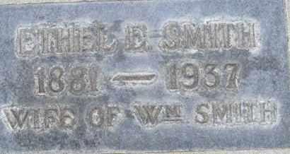SMITH, ETHEL ELIZA - Sutter County, California   ETHEL ELIZA SMITH - California Gravestone Photos