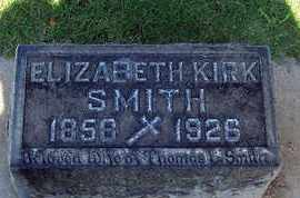 SMITH, ELIZABETH KIRK - Sutter County, California | ELIZABETH KIRK SMITH - California Gravestone Photos