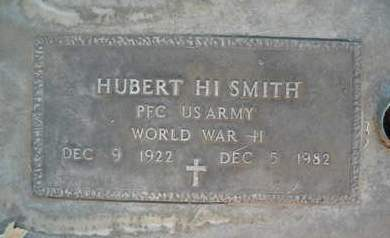SMITH, HUBERT HI - Sutter County, California | HUBERT HI SMITH - California Gravestone Photos