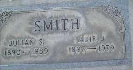 SMITH, JULIAN S. - Sutter County, California   JULIAN S. SMITH - California Gravestone Photos