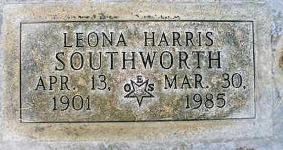 HARRIS SOUTHWORTH, LEONA T. - Sutter County, California | LEONA T. HARRIS SOUTHWORTH - California Gravestone Photos