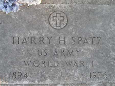 SPATZ, HARRY HAUCH - Sutter County, California | HARRY HAUCH SPATZ - California Gravestone Photos