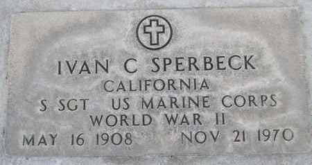 SPERBECK, IVAN CLARENCE - Sutter County, California   IVAN CLARENCE SPERBECK - California Gravestone Photos