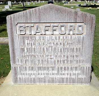 STAFFORD, NELLIE RAUB - Sutter County, California | NELLIE RAUB STAFFORD - California Gravestone Photos