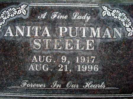 STEELE, ANITA PUTMAN - Sutter County, California | ANITA PUTMAN STEELE - California Gravestone Photos