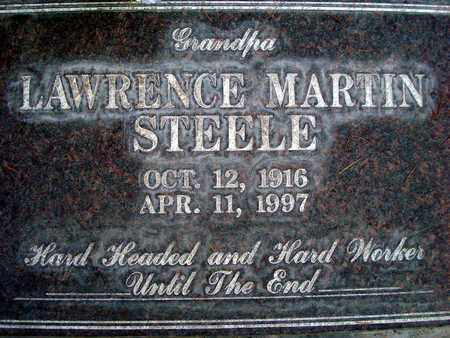 STEELE, LAWRENCE MARTIN - Sutter County, California | LAWRENCE MARTIN STEELE - California Gravestone Photos