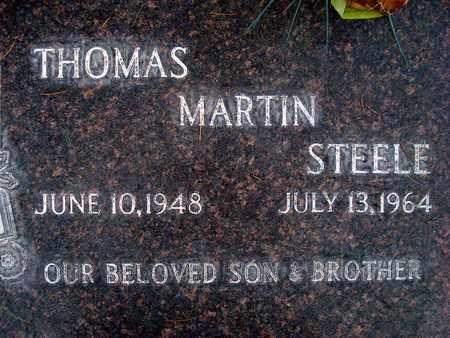 STEELE, THOMAS MARTIN - Sutter County, California | THOMAS MARTIN STEELE - California Gravestone Photos