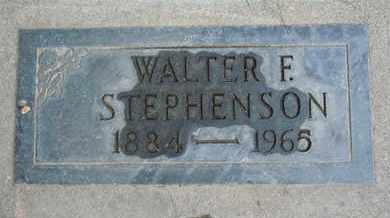 STEPHENSON, WALTER F. - Sutter County, California | WALTER F. STEPHENSON - California Gravestone Photos