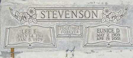 STEVENSON, EUNICE D. - Sutter County, California | EUNICE D. STEVENSON - California Gravestone Photos