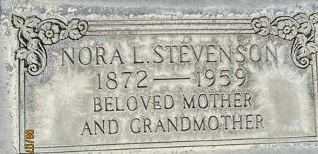 STEVENSON, NORA LAURA - Sutter County, California | NORA LAURA STEVENSON - California Gravestone Photos